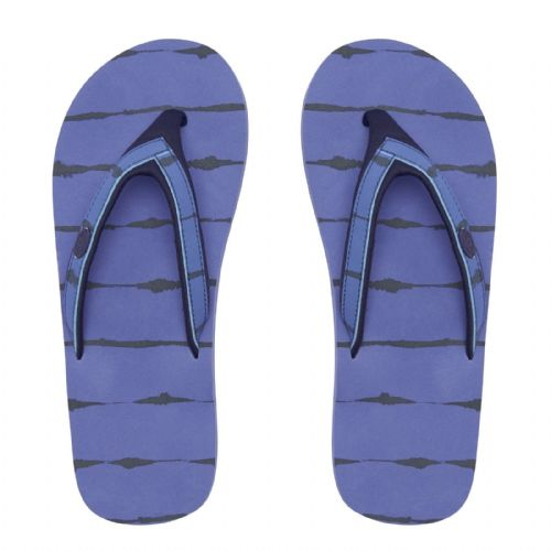 ANIMAL WOMENS FLIP FLOPS.SWISH SLIM BLUE SOFT TOE POST THONGS SANDALS 8S 304 E31